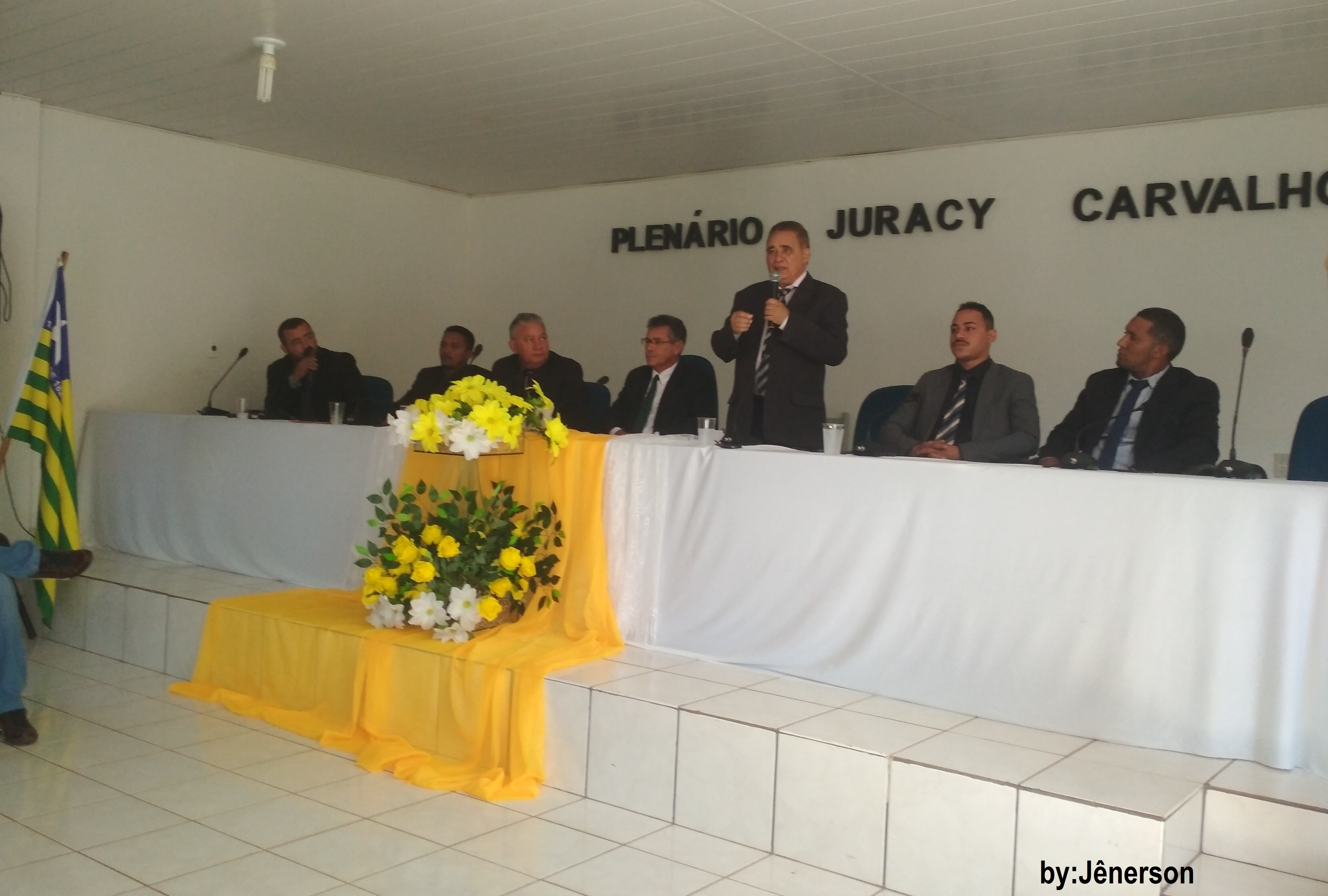 Câmara dá ao Vice, a Posse no cargo de Prefeito de Gilbués