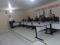Gerente da Agência do Banco do Brasil, participa de Sessão, e presta esclarecimentos